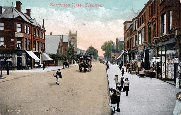 Battersea Rise, Clapham, 1923