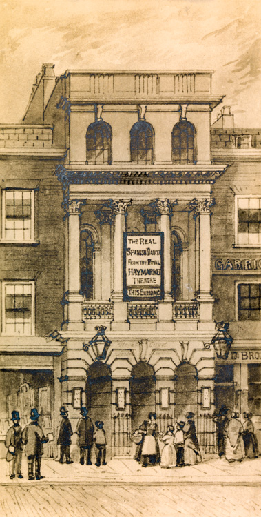 City of London Theatre, 1838