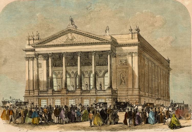 Covent Garden Theatre, 1858