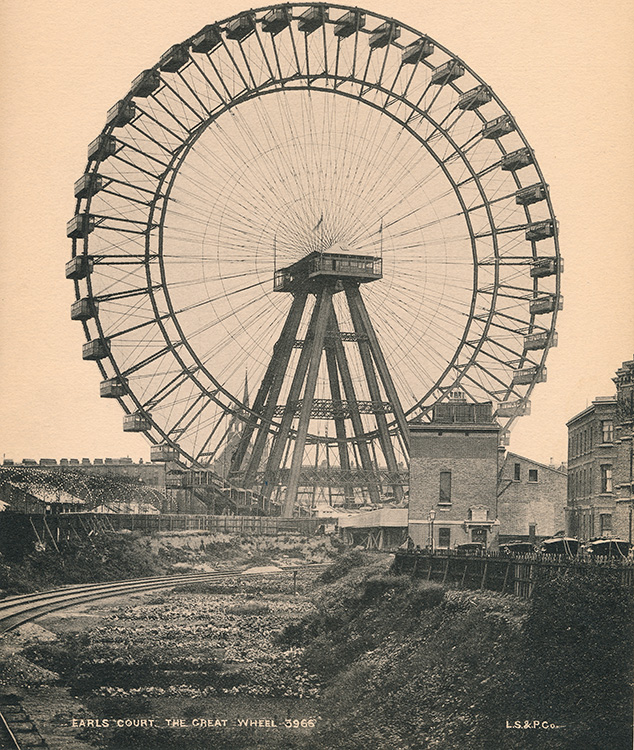 Earls Court wheel, 1895-1906