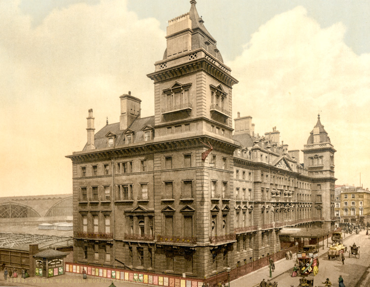 Great Western Hotel, Paddington, c1890