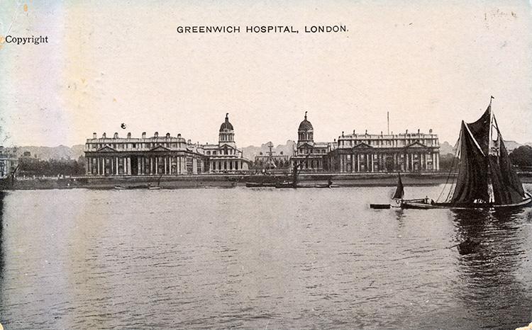 Greenwich Hospital 1907