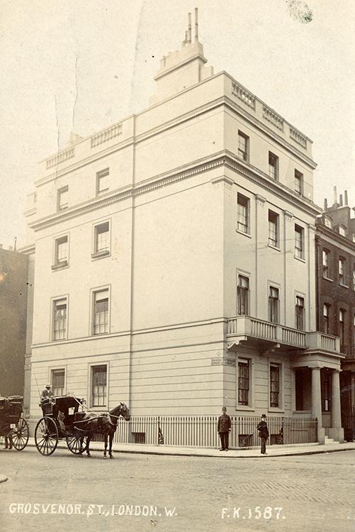 Grosvenor Street, 1905