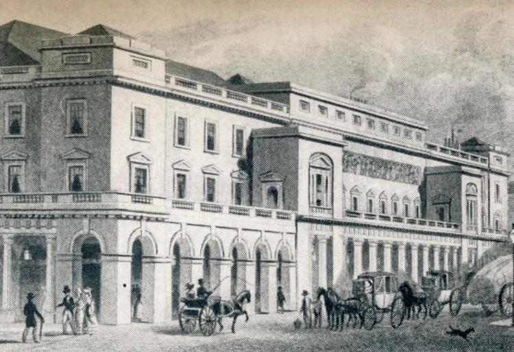 Haymarket Opera House, 1830