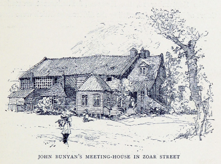 John Bunyan's Meeting House, Zoar Street