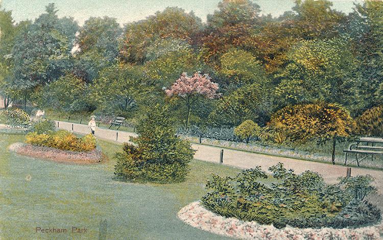 Peckham Park, 1905