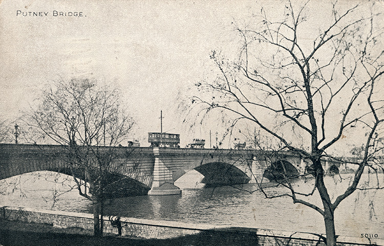 Putney bridge, 1933