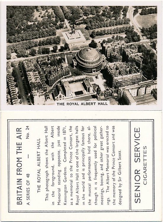 Royal Albert Hall, 1939