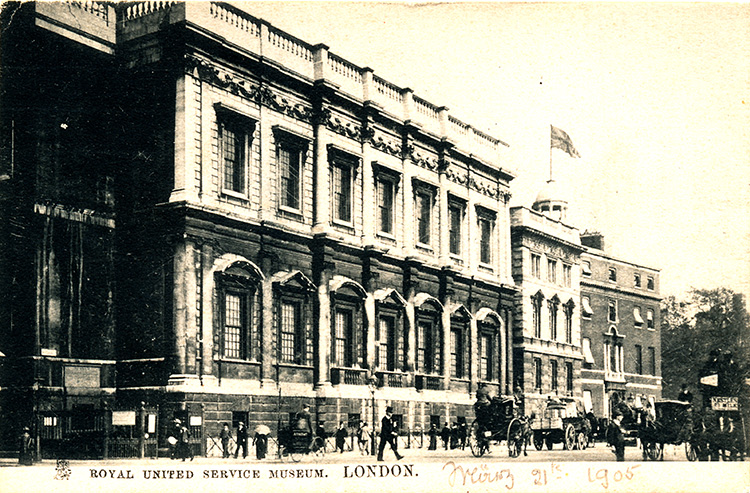 Royal United Service Museum, 1905