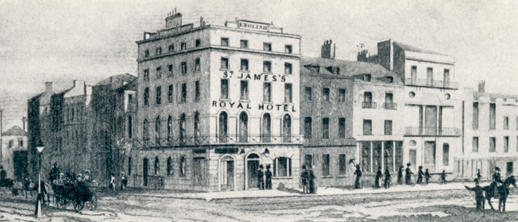 St James's Royal Hotel, 1820