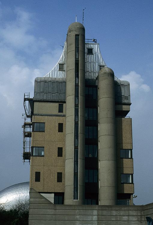 Thames barrier buildings, Charlton, 1996