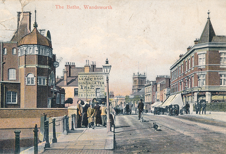 The Baths, Wandsworth, 1911