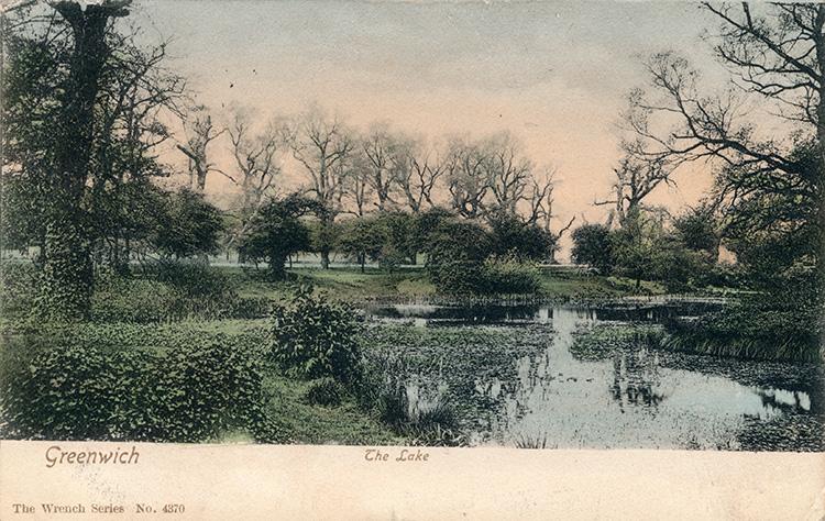 The Lake, Greenwich, 1905