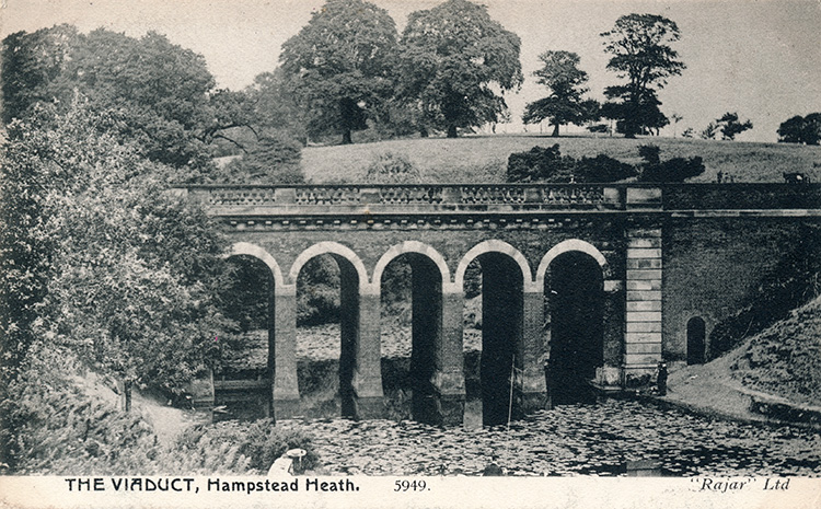 The viaduct, Hampsted Heath