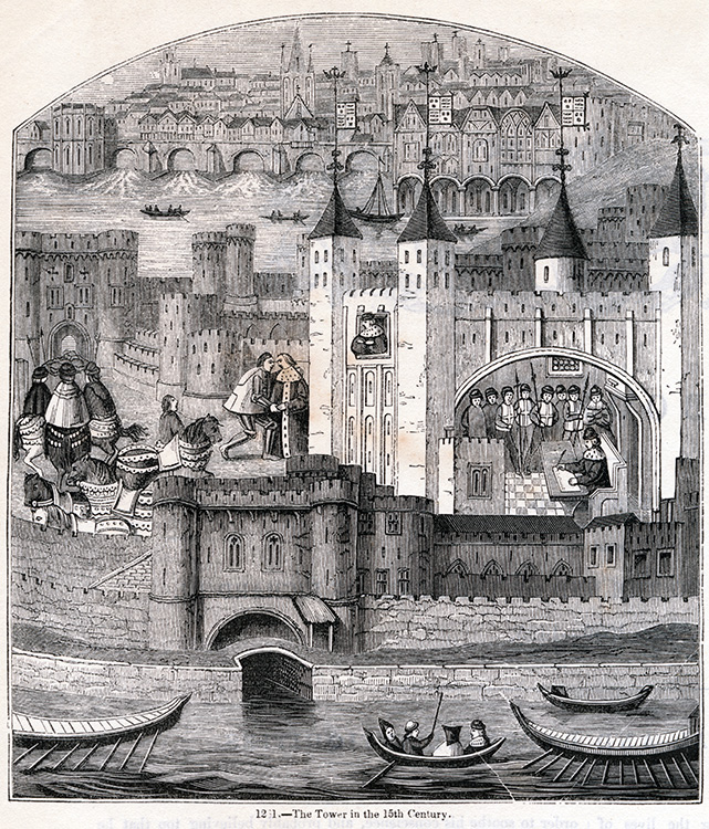 Tower of London, 15th century